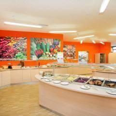Reichhaltiges Frühstücks-, Mittags- und Abendessen in Buffetform im JUFA Hotel …