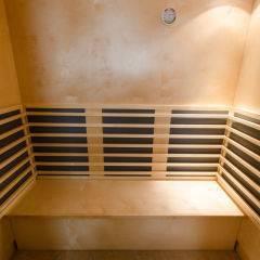 Infrarotkabine im Wellnessbereich im JUFA Judenburg Hotel zum Sternenturm