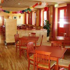 Gemütliches Restaurant im JUFA Hotel Mariazell Sigmundsberg. Der Ort für erholsamen Familienurlaub und einen unvergesslichen Winter- und Wanderurlaub.