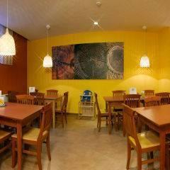 Restaurant mit Kinderhochstuhl im JUFA Hotel Murau. Der Ort für erholsamen Familienurlaub und einen unvergesslichen Winter- und Wanderurlaub.