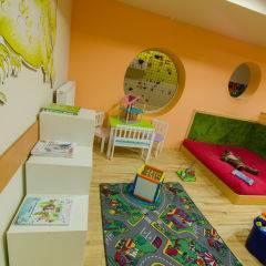 Spielbereich im JUFA Natur-Hotel Bruck mit Spielzeug. Der Ort für erfolgreiche und kreative Seminare in abwechslungsreichen Regionen.
