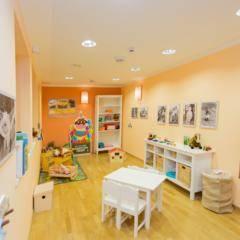 Spielzimmer mit Kreidetafel im JUFA Hotel Gitschtal Landerlebnis. Der Ort für kinderfreundlichen und erlebnisreichen Urlaub für die ganze Familie.