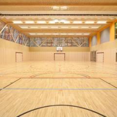 Sporthalle im JUFA Hotel Deutschlandsberg - Sport-Resort. Der Ort für erfolgreiches Training in ungezwungener Atmosphäre für Vereine und Teams.