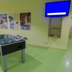 Tischfussball und Spielekonsole im JUFA Hotel Salzburg City. Der Ort für erlebnisreichen Städtetrip für die ganze Familie und der ideale Platz für Ihr Seminar.