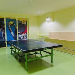Tischtennis im JUFA Hotel Salzburg City. Der Ort für erlebnisreichen Städtetrip für die ganze Familie und der ideale Platz für Ihr Seminar.
