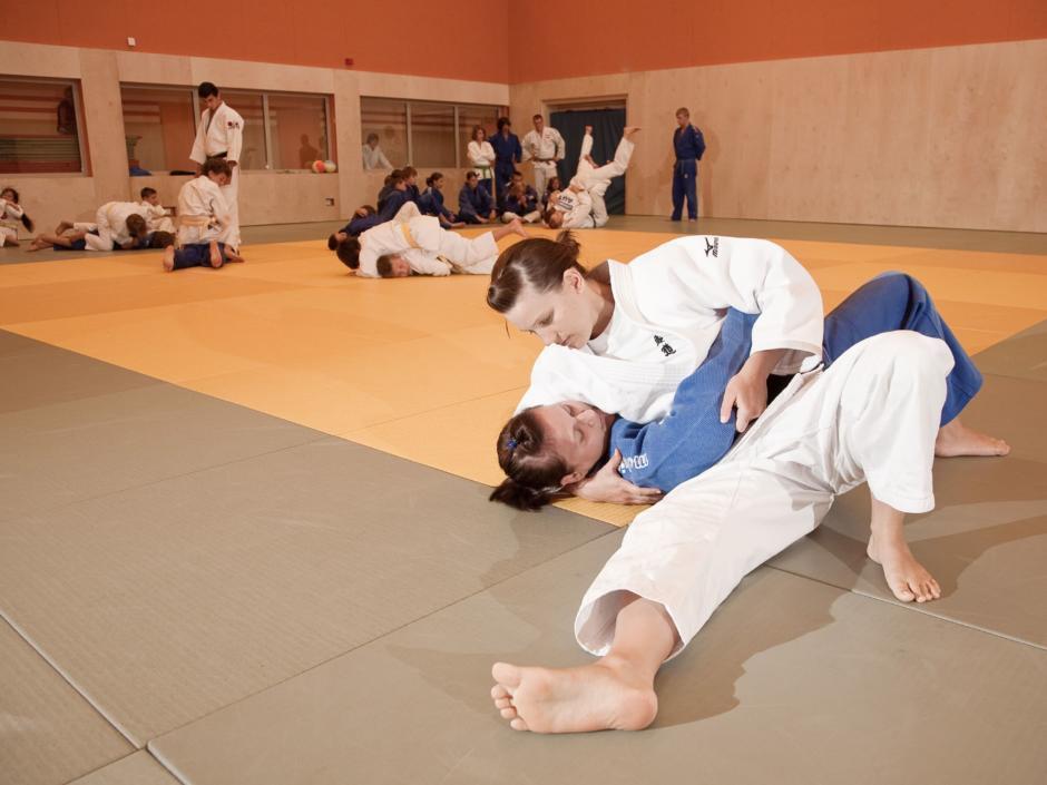 Eine grosse Judohalle finden Sie im JUFA Hotel Leibnitz - Sport-Resort