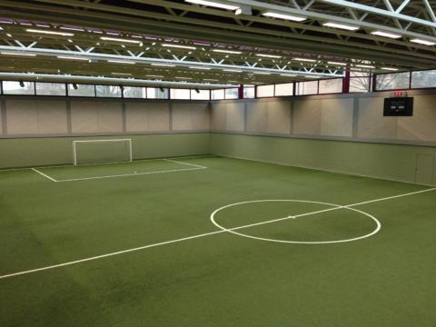Direkt anliegender Fussballhalle mit Kunstrasen am JUFA Hotel Wangen - Sport-Resort