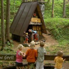 Hänsl u.Gretl im Kinderland – Foto Beatrix Hofstetter