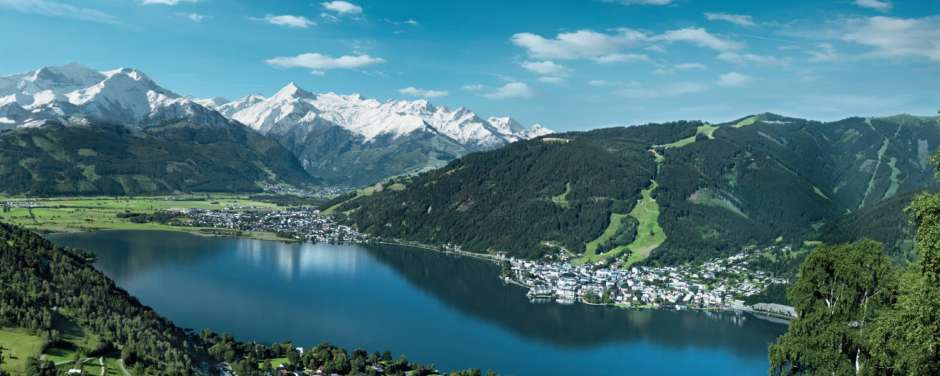 Zeller See in Zell am See-Kaprun im Pinzgau im Salzburger Land in der Nähe vom JUFA Hotel Kaprun. Der Ort für erholsamen Familienurlaub und einen unvergesslichen Winter- und Wanderurlaub.