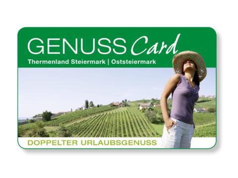Sujetbild der Genuss Card. Erleben Sie tolle Ausflugsziele mit derGenuss Card und JUFA Hotels. Der Ort für erholsamen Familienurlaub und einen unvergesslichen Winter- und Wanderurlaub.