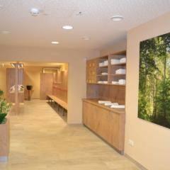 Der Wellnessbereich im JUFA Natur-Hotel Bruck. Der Ort für erlebnisreichen Natururlaub für die ganze Familie.