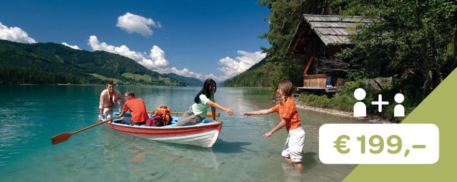 Sie sehen das Angebot 1+1 der Sommerkampagne Land der Schätze. JUFA Hotels bietet kinderfreundlichen und erlebnisreichen Urlaub für die ganze Familie.