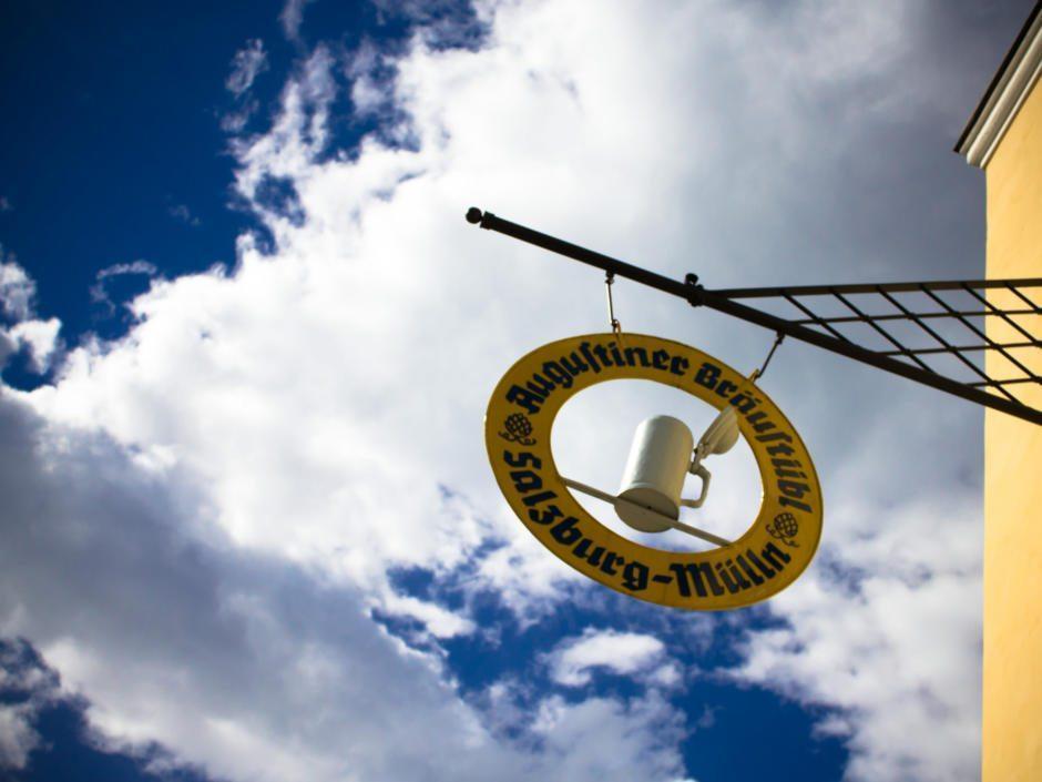Das traditionsreiche Bräuhaus in Salzburg-Mülln ist ein Tipp für Besucher der Stadt Salzburg