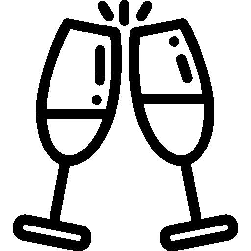 Icon Sektglas