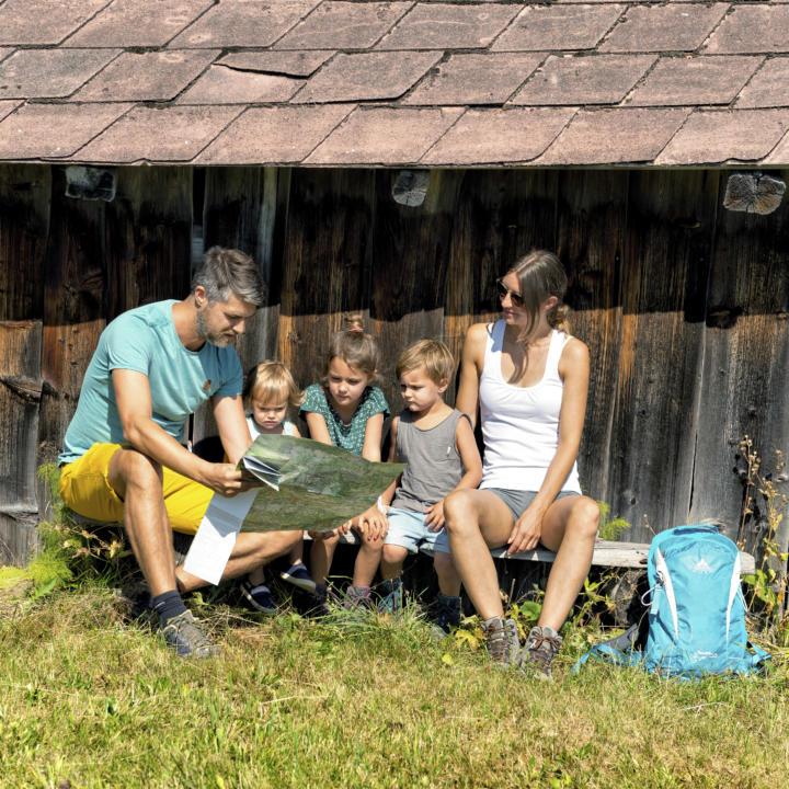 Familienwanderung Bregenzer Wald