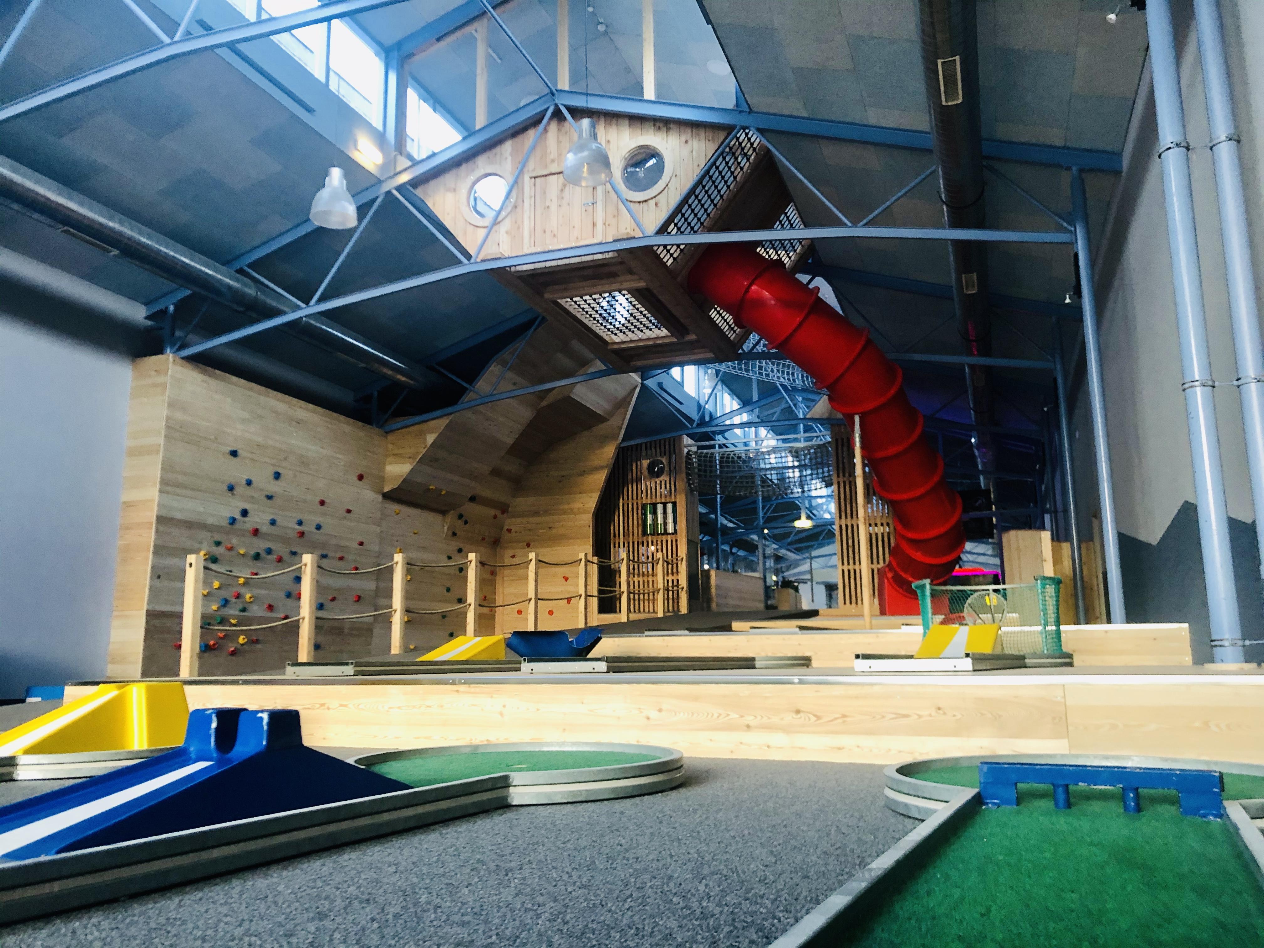 Neuer Indoor-Spielbereich im JUFA Gnas