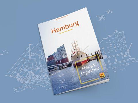 Der Hamburg Kompass von JUFA