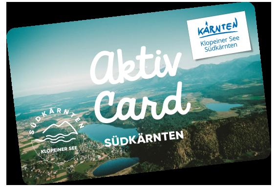 Sie sehen das Sujetbild der Aktiv Card Südkärnten. Erleben Sie tolle Ausflugsziele mit der Aktiv Card Südkärnten und JUFA Hotels. Der Ort für erholsamen Familienurlaub und einen unvergesslichen Winter- und Wanderurlaub.