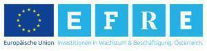 Sie sehen das Logo des EFRE-Programms der EU für Investionen in Wirtschaft und Beschäftigung in Österreich.