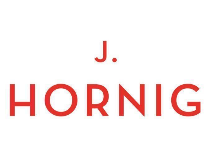 Sie sehen das Logo von J. Hornig Kaffee.