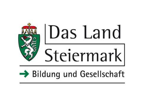 Sie sehen das Logo vom Ressort Bildung und Gesellschaft vom Land Steiermark