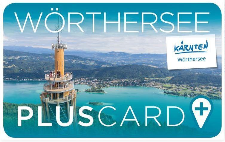 Sie sehen das Sujetbild der Wörthersee Plus Card. Erleben Sie tolle Ausflugsziele mit der Wörthersee Plus Card und JUFA Hotels. Der Ort für erholsamen Familienurlaub und einen unvergesslichen Winter- und Wanderurlaub.