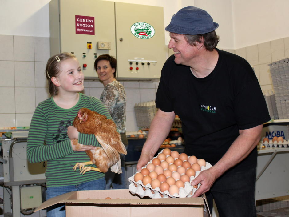 Eier-Kürbiskernöl Moser