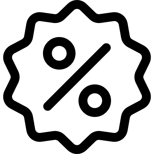 Icon Prozent