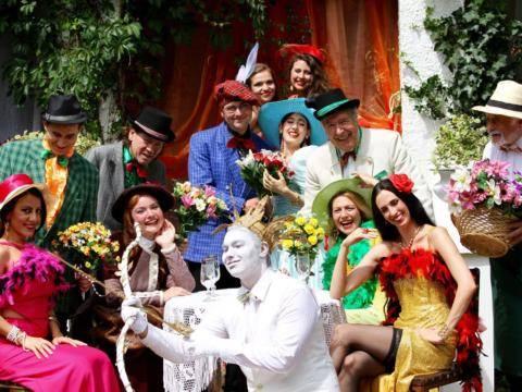 Sie sehen das Romantiktheater Hadres im Weinviertel. JUFA Hotels bietet kinderfreundlichen und erlebnisreichen Urlaub für die ganze Familie.