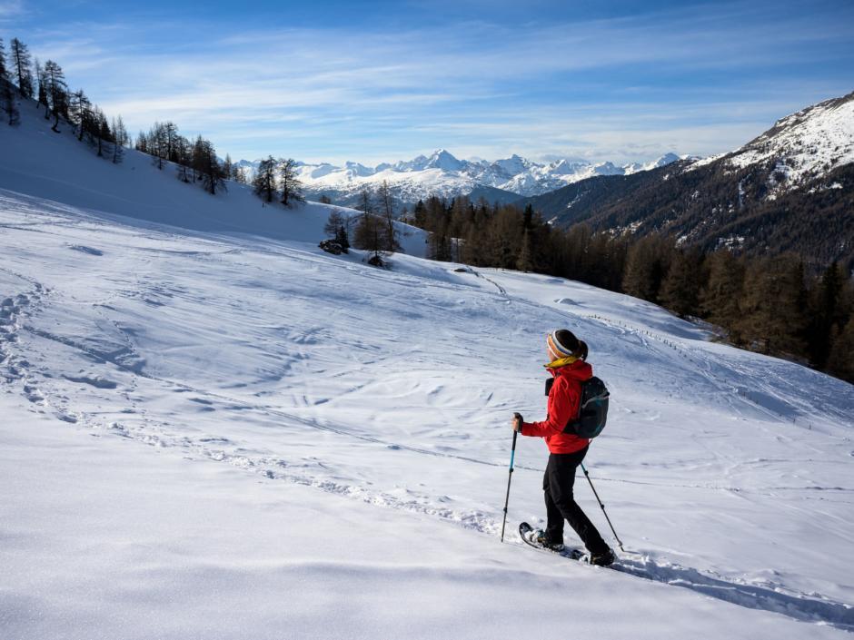 Schneeschuhwandern in Schmirn
