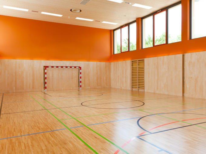 Sporthalle im JUFA Weinviertel - Hotel in der Eselsmühle. Der Ort für erfolgreiche und kreative Seminare in abwechslungsreichen Regionen.