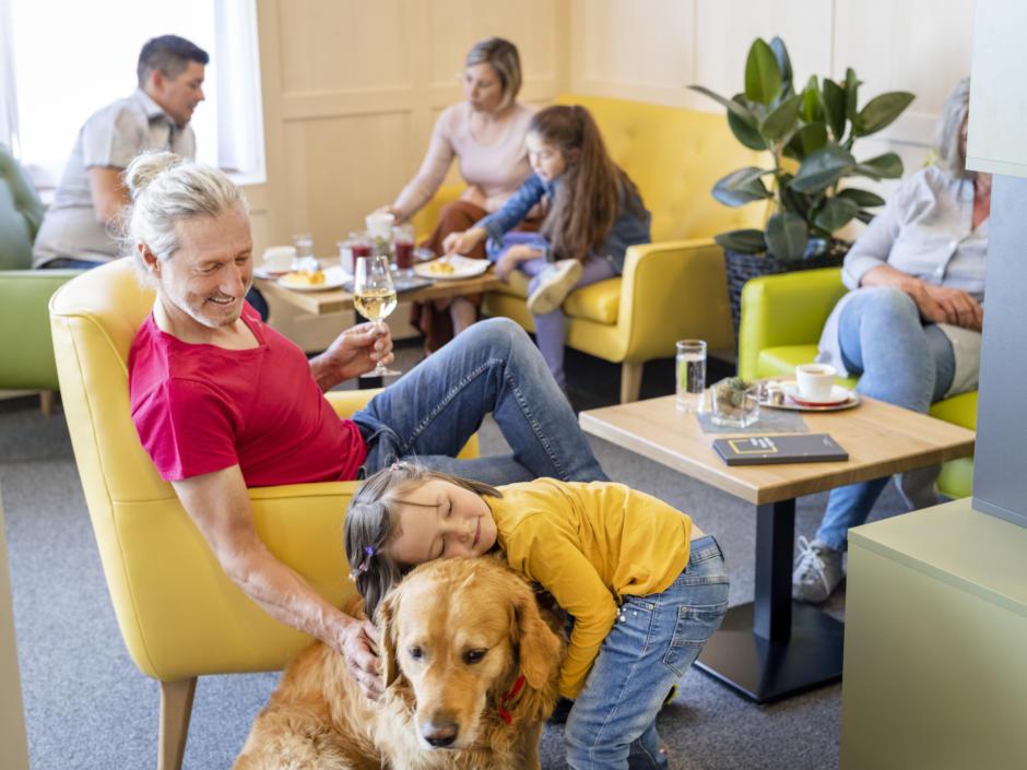 JUFA Laterns Familie Hund
