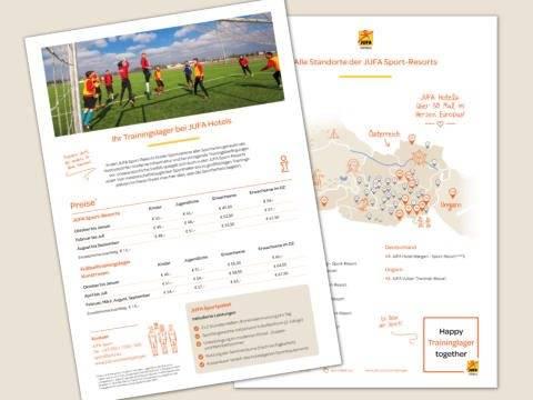 Sie sehen ein Teaserbild der JUFA Sportpreise-Übersicht. JUFA Hotels bietet Ihnen den Ort für erfolgreiches Training in ungezwungener Atmosphäre für Vereine und Teams.