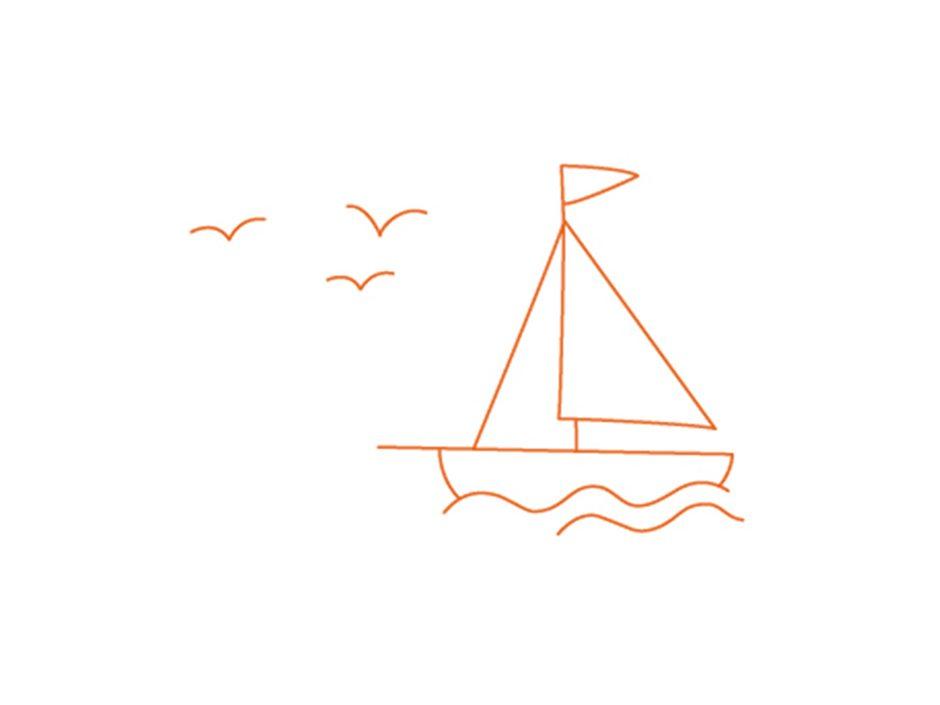 Sie sehen das Icon Segelboot mit Möwen zum Vorteil Reiseschutz der JUFA Hotels Online-Buchung. JUFA Hotels bietet Ihnen den Ort für erlebnisreichen Natururlaub für die ganze Familie.