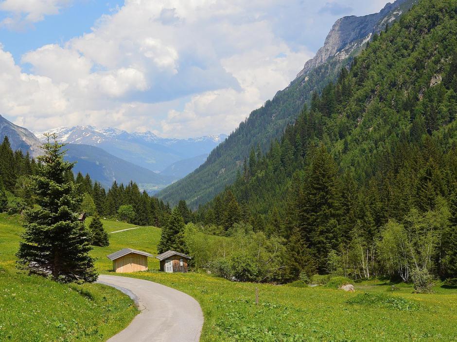 Wipptal Gschnitztal Tirol geschnitten